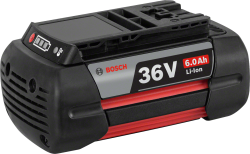 - Bosch Professional GBA 36 Volt 6,0 Ah Li-on Akü