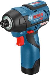 BOSCH - Bosch Professional GDR 12 V-110 EC 12 Volt 2,5 Ah Çift Akülü Darbeli Somun Sıkma - Kömürsüz motor