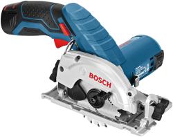 BOSCH - Bosch Professional GKS 12V-26 2,5 Ah Çift Akülü Daire Testere - L-boxx Çantalı