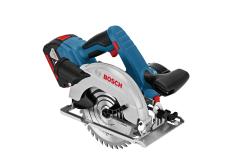BOSCH - Bosch Professional GKS 18 V-57 G 2,6 Ah Çift Akülü Daire Testere - L-boxx Çantalı
