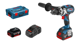 - Bosch Professional GSB 18V-85 C 5 Ah Çift Akülü Darbeli Delme/Vidalama - L-boxx Çantalı
