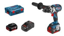 - Bosch Professional GSR 18 V-85 C 5 Ah Çift Akülü Delme/Vidalama - L-boxx Çantalı