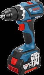 - Bosch Professional GSR 18 V-EC 5 Ah Çift Akülü Delme/Vidalama - L-boxx Çantalı