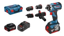 - Bosch Professional GSR 18V-60 FC 5 Ah Çift Akülü Delme/Vidalama - L-boxx Çantalı