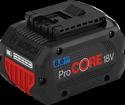- Bosch Professional ProCore18V 8,0 Ah Akü
